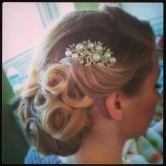 wedding hair LOVE