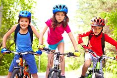 Too many kids have a bike in the wrong size. Use this guide to bike sizes, so you don't make any dangerous mistakes when you buy bikes for your kids.
