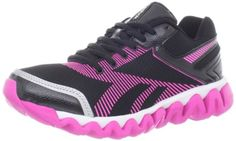 Reebok Womens ZigLite Electrify Running ShoeBlack PinkWhiteSiver9 M US >>> See this great product. (This is an affiliate link) #RunningWomensFootwear