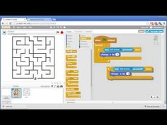Maze - Invent with Scratch Screencast Computer Lessons, Computer Coding, Technology Lessons, Computer Lab, Computer Science, Library Lessons, Math Lessons, Fun Worksheets For Kids, Basic Programming