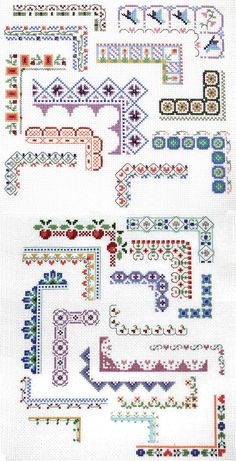 cross stitch lace - Google Search