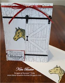 Stampin' Up! Horse Cards, Crackle Painting, Kids Cards, Men's Cards, Fun Fold Cards, Beautiful Handmade Cards, Animal Cards, Ink Pads, Interior Barn Doors