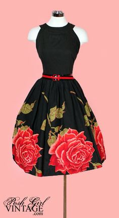 vintage party dress- yes please!