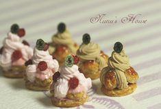 *ラズベリー* - *Nunu's HouseのミニチュアBlog* 1/12サイズのミニチュアの食べ物、雑貨などの制作blogです。