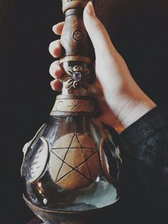 Potions:  Potion bottle.