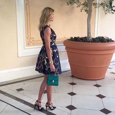 ✔️ #lastnight #msgm dress #valentino shoes #bvlgari bag