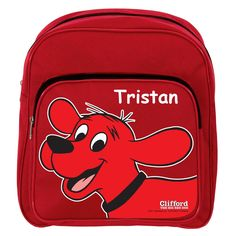 Clifford The Big Red Dog Red Backpack - Red from PBS Kids Shop
