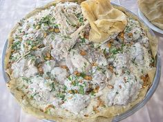 Mansaf Chicken - Jordanian recipe