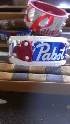 I Heart Pabst Blue Ribbon Beer Vintage White by trashiquebymiru, $25.00