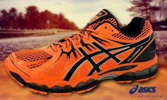 #asics #running #walking #shoes #bright #orange Asics Shoes, Walking Shoes, Bright, Running, Orange, Sneakers, Fashion, Racing, Moda
