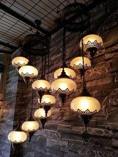 5 ball Chandelier, Turkish Lamps, Moroccan Lantern,Turkish Light, Hanging Lamp, ceiling lamp,ceiling fixture,moroccan lamp,moroccan pendant