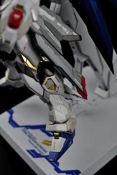 GUNDAM GUY: Metal Build Strike Freedom Gundam + RG Style Decals Applied