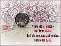 Give an expectant mom a cherished keepsake from Origami Owl!