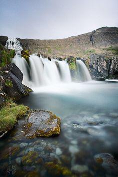 Dynjandi by Dalla*  #icelandtravel #iceland #travel #waterfall