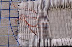 "Ney Ney's Nest: ""Spring Smock-Along""-Picture Smocking Part 1 Smocking Plates, Smocking Patterns, Knitting Patterns, Sewing Patterns, Dress Patterns, Sewing Basics, Sewing Hacks, Sewing Projects, Sewing Tips"