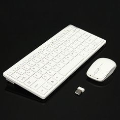Ultra Thin 2.4GHz Wireless Keyboard + Cover and Mouse Kit