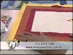 ▶ Patchwork Ana Cosentino: Jogo Americano Galinhas (20/03/2013) - YouTube