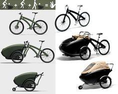 Triobike, le vélo 3 en 1