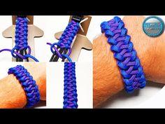 Paracord Braids, Paracord Knots, Paracord Bracelets, Knot Bracelets, Survival Bracelets, Paracord Tutorial, Bracelet Tutorial, Diy Tutorial, Macrame Bracelet Patterns