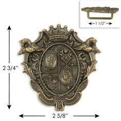 Royal Crest Buckle - fun steampunk accessory? ($20)