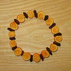spirálky z pomerančové kůry