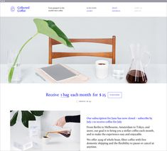 Collected Coffee on Behance