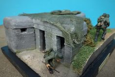 "101st Airborne D-Day 1944 | ... ""First Line Bunker, Normandy 1944"" & ""101st Airborne, Normandy 1944"