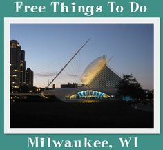 Are you looking for fun free activities and attractions in the Milwaukee area? There are many different possibilities for things to do with a number of options for children.