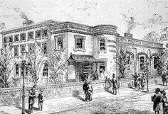 Raleigh Hall, Saltoun Road, Brixton, 1885