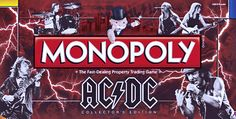 THE AC/DC MONOPOLY GAME (released in august 2011)