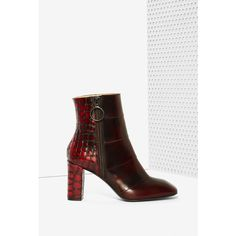 e9d6215871d6 Eugenia Kim Ella Leather Boot (10 620 ZAR) ❤ liked on Polyvore featuring  shoes