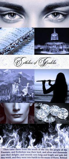 Ecthelion http://petitedilly.tumblr.com/post/82302220301/curseoffeanor-ecthelion-of-the-fountain