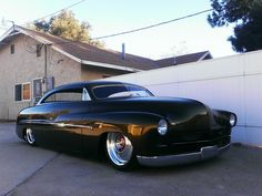 Hot rods and Custom cars. Sometimes classic cars but mostly early hotrods and rat rods or custom cars like lowriders. Retro Cars, Vintage Cars, My Dream Car, Dream Cars, Cadillac, Hot Rods, Mercury Cars, Lead Sled, Sweet Cars