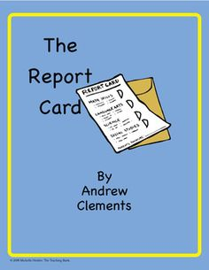 book report card comments Exciting lesson ideas, classroom strategies, teaching tips, book lists, videos, and reproducibles in a daily blog by teachers from the classrooms of extraordinary mentor.