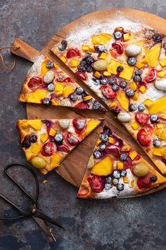 Rudolfs Bakery, Dessert Pizza, Vegetable Pizza, Fruit, Oatmeal, Cheese, Vegetables, Breakfast, Pers