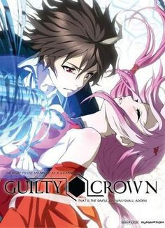 【Guilty Crown ღ Yuzuriha Inori】 Emo Anime Girl, Sad Anime, Anime Manga, Anime Art, Guilty Crown Wallpapers, Top 10 Best Anime, Best Anime Couples, Inori Yuzuriha, Anime Guys Shirtless