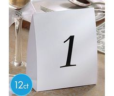 Table Markers-Numbers 1 thru 12 - $4.99/$14.05 if shipped