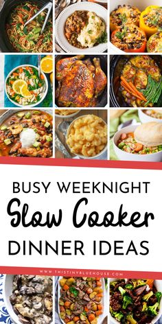 Is dinner on school nights chaos at your house? Here is the BEST collection of slow cooker busy school night meal ideas that are guaranteed to satisfy the whole family. These one pot wonder slow cooker dinners are easy, delicious and make dinner a breeze. Crockpot Dishes, Crock Pot Slow Cooker, Crock Pot Cooking, Slow Cooker Recipes, Cooking Recipes, Crockpot Meals, Freezer Meals, Freezer Recipes, Freezer Cooking