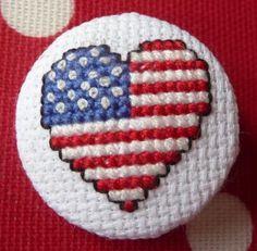 Patriotic Cross Stitch Patterns | Patterns Gallery