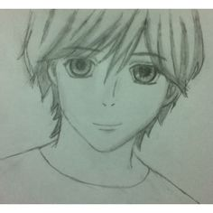 Anime drawing