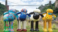 Exhibition | Shaun in the City - Shaun the Sheep is taking over London and Bristol :-)