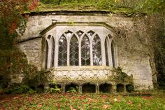 Stourton, Wiltshire, England. Hearts of Glass