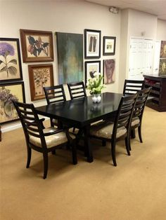 Thomasville Spellbound Double Pedestal Table With Custom Bases As Fair Thomasville Dining Room Chairs Decorating Inspiration