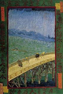 The Bridge in the Rain (after Hiroshige), 1887  Vincent van Gogh (1853-1890)    Oil on Canvas, 73 x 54 cm  Van Gogh Museum, Amsterdam  (Vincent van Gogh Stichting)