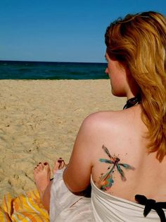 Artistic Watercolor Tattoos