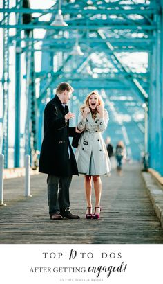 Top 10 To Dos After Getting Engaged // Photography ~ Bamber Photography