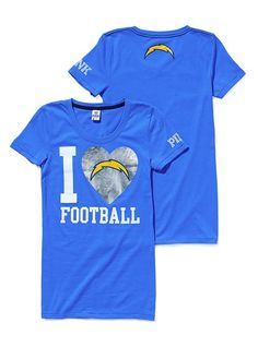 Love this Chargers shirt :-)