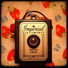 Super Cute Vintage Camera
