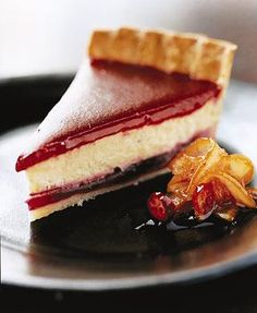 Cranberry Eggnog Tart // How will we ever find the time to make all these amazing desserts?!