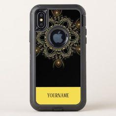 beautiful pattern fashion style rich looks OtterBox defender iPhone x case - beauty gifts stylish beautiful cool